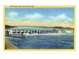 Chattanooga, Tennessee - Panoramic View of the Chickamauga Dam Posters by Lantern Press