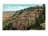 Grand Canyon Nat'l Park, Arizona - Hotel El Tovar Exterior Posters by Lantern Press