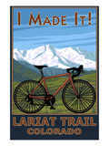I Made It! Lariat Trail, Colorado Posters by  Lantern Press