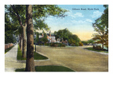 Kansas City, Missouri - Hyde Park, View of Gilham Road Posters by  Lantern Press