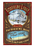 Timberline Lodge - Mt. Hood, Oregon Posters by  Lantern Press
