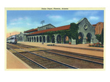 Phoenix, Arizona - Union Depot Exterior View Print by  Lantern Press