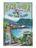 Roche Harbor, San Juan Island, Washington Views Prints by  Lantern Press