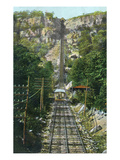 Chattanooga, Tennessee - Lookout Mountain Incline Railroad Art by  Lantern Press