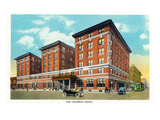 Springfield, Missouri - Exterior View of the Colonial Hotel Prints by  Lantern Press