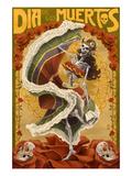 Dia De Los Muertos Affiches par  Lantern Press