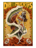 Dia De Los Muertos Prints by  Lantern Press