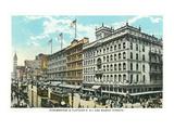 Philadelphia, Pennsylvania - Strawbridge and Clothiers Building Exterior Poster by  Lantern Press