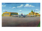 Harrisburg, Pennsylvania - Airport at New Cumberland View Posters by Lantern Press