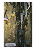 Lookout Mountain, Tennessee - Fairyland Caverns, Interior View of Gnomes at Play Art by Lantern Press