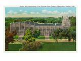 Greeley, Colorado - Colorado State College, Gunter Hall View Poster by  Lantern Press
