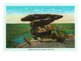 Tennessee - Lookout Mountain View of Umbrella Rock Prints by  Lantern Press