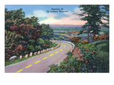 Lookout Mountain, Tennessee - View of Highway 58 Up Lookout Mt Posters by  Lantern Press