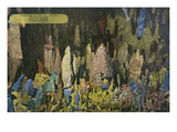 Lookout Mountain, Tennessee - Fairyland Caverns, Interior View of Rock Formations Posters by Lantern Press