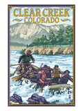 Clear Creek, Colorado - River Rafting Posters by  Lantern Press