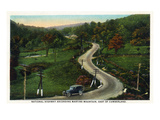 Martins Mountain, Maryland - National Road Scene East of Cumberland Prints by  Lantern Press