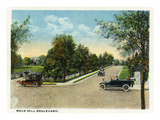 Kansas City, Missouri - View of Rock Hill Boulevard Print by Lantern Press
