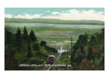 Catskill Mountains, New York - View of Otis Elevating Railway Prints by  Lantern Press