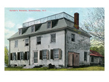 Schenectady, New York - Sander's Mansion Exterior View Prints by  Lantern Press