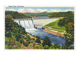 Norris, Tennessee - Springtime View of the Norris Dam Prints by Lantern Press