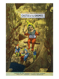 Lookout Mountain, Tennessee - Fairyland Caverns, Interior View of the Castle of Gnomes Prints by Lantern Press