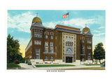 Springfield, Missouri - Exterior View of the New Shrine Mosque Posters by  Lantern Press