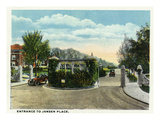 Kansas City, Missouri - View of the Entrance to Jansen Place Prints by  Lantern Press