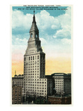 Hartford, Connecticut - Travelers Tower Exterior Prints by Lantern Press