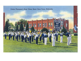 Boys Town, Nebraska - Father Flanagan's Boys' Home Marching Band Prints by  Lantern Press