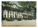 Saratoga Springs, New York - American-Adelphia Hotel Buildings Prints by  Lantern Press