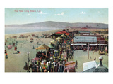Long Beach, California - View of the Pike Posters by  Lantern Press