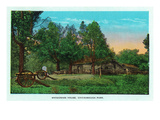 Georgia - Chickamauga Park View of Snodgrass House Prints by  Lantern Press