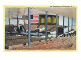 Chautauqua, New York - Amphitheatre Interior View Prints by  Lantern Press
