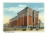 Kansas City, Missouri - Exterior View of the Baltimore Hotel Prints by  Lantern Press
