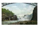 Rochester, New York - Lower Falls of the Genesee River Láminas por Lantern Press