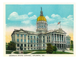 Atlanta, Georgia - Capitol Building Exterior Posters by  Lantern Press