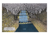 Lookout Mountain, Tennessee - Fairyland Caverns, Interior View of Crystal Falls Posters by  Lantern Press