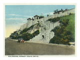 Kansas City, Missouri - View of the Palisades on Kersey Coats Drive Posters by  Lantern Press