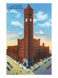 Chicago, Illinois - Grand Central Station Exterior View Posters by  Lantern Press