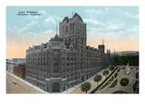 Montreal, Quebec - Windsor Station Exterior Prints by  Lantern Press