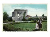 Denver, Colorado - Cheesman Memorial Pavilion View in Park Posters par  Lantern Press