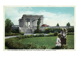 Denver, Colorado - Cheesman Memorial Pavilion View in Park Posters by  Lantern Press