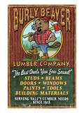 Vale, Oregon - Burley Beaver Lumber Company Posters by  Lantern Press