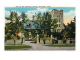 Rochester, Minnesota - View of a Beautiful Home in the City Posters by  Lantern Press
