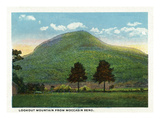 Chattanooga, Tennessee - View of Lookout Mountain from Moccasin Bend Posters by  Lantern Press