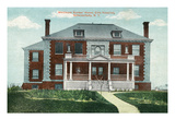 Schenectady, New York - Ellis Hospital, Whitmore Nurses' Home View Art by  Lantern Press