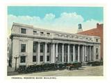 Atlanta, Georgia - Federal Reserve Bank Building Exterior Affiches par  Lantern Press