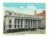 Atlanta, Georgia - Federal Reserve Bank Building Exterior Prints by  Lantern Press