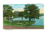 Orlando, Florida - Lake Lucerne Circle Scene Posters by  Lantern Press