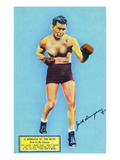 Jack Dempsey and a Message to the Boys Póster por  Lantern Press
